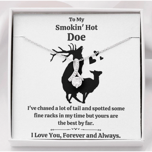 Personalized necklace to wife - Funny gift card - To my smokin' hot girl - Valentine gift for her - Family Presents - Great Blanket, Canvas, Clothe, Gifts For Family