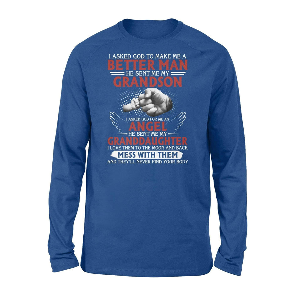 God sent me my grandson - Standard Long Sleeve - Family Presents