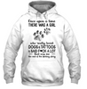 A Girl Really Loved Dogs And Tattoos Hoodie - Christmas hoodie