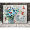 Cardinal Canvas - Be Still 2 Wall Art Canvas  -Birthday, Christmas gift - Be still and know that I am God