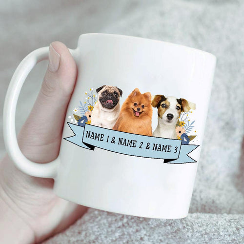 Custom Pet Portrait Mug/Personalized Pet Lover Gift/Unique Dog Owner Gift/Custom Cat Owner Gift/Customized Pet Owner Gift/Pet Cartoon Gift