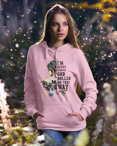 I blunt because God rolled me that way - Standard Hoodie