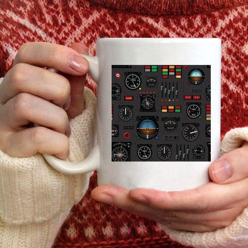 Pilot Indicator Coffee Mug Gift - Family Presents - Great Blanket, Canvas, Clothe, Gifts For Family