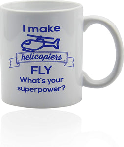 Helicopter Gifts For Men  white ceramic cup Helicopter pilot gifts - Family Presents - Great Blanket, Canvas, Clothe, Gifts For Family