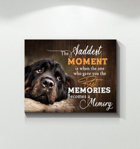 Rottweiler - Become a memory Canvas - Family Presents - Great Blanket, Canvas, Clothe, Gifts For Family