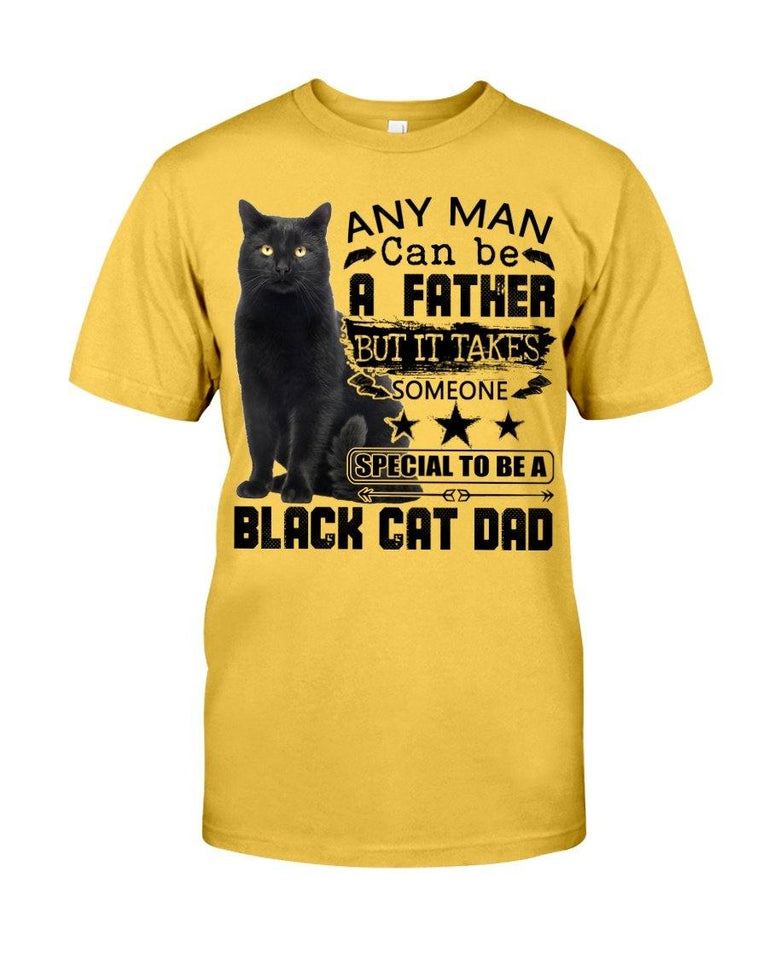 Black cat father Classic, Special to be a Black Cat dad - Standard T-shirt