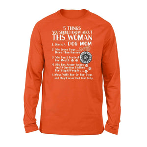 Five Things About This Woman - Standard Long Sleeve - Family Presents