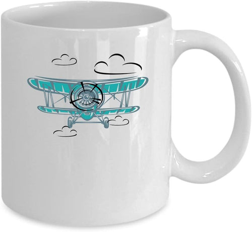 Airplane Coffee Mug, Airplane gift, Pilot gift - Family Presents - Great Blanket, Canvas, Clothe, Gifts For Family