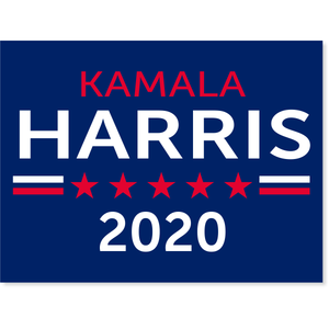 "Harris 2020 Yard Sign | 18"" x 24"" - Family Presents - Great Blanket, Canvas, Clothe, Gifts For Family"