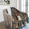 Dog Blanket 3D Pitbull Dog Fleece Blanket