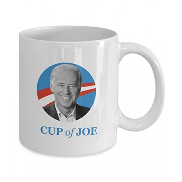 CUP OF JOE BIDEN COFFEE MUG - UNIQUE GIFTS BY HUMUGOUS - Family Presents - Great Blanket, Canvas, Clothe, Gifts For Family