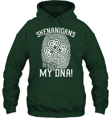 SHENANIGANS IN MY DNA Standard Hoodie - Family Presents - Great Blanket, Canvas, Clothe, Gifts For Family