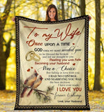 To My Wife Blanket - Becoming Your Husbad - Blanket Gift For Wife - Valentine Gift For Wife, Valentine Blanket For Couple - Family Presents - Great Blanket, Canvas, Clothe, Gifts For Family