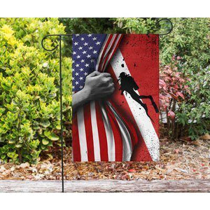 SCUBA DIVING US GARDEN FLAG HOUSE FLAG - Family Presents - Great Blanket, Canvas, Clothe, Gifts For Family