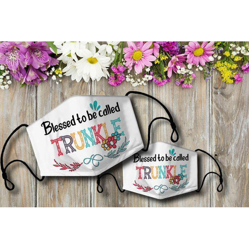 Blessed to be called TRUNKLE Cloth Mask - Family Presents - Great Blanket, Canvas, Clothe, Gifts For Family