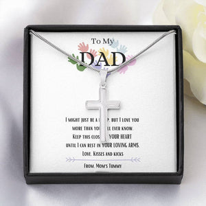 Fathers Day Necklace, Gift For Dad, I Love You, New Dad Gift, Dad To Be, Gifts For Expectant Dad, Future Dad Gift, Fathers Day Gift
