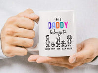 Personalised Dad Mug Custom Mug For Dad Father's Day Gift For Dad Birthday Gift Dad Xmas Gift For Dad World's Best Dad Dad Mugs Mugs For Dad