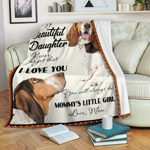 Beagle – My Beautiful Daughter Special Gift Sofa Blanket