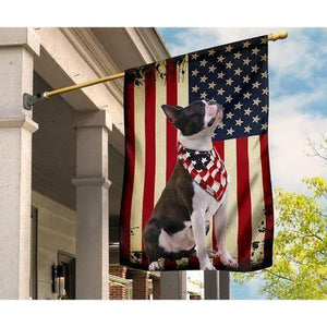 Boston Terrier Flag - Garden Flag House Flag - Family Presents - Great Blanket, Canvas, Clothe, Gifts For Family