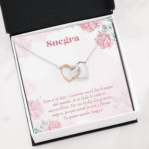 Mother In Law Spanish Gift, Mejor Suegra Gift, Suegra Necklace, Latina Mom In Law, Joyas Para Suegra, Gift In Spanish, Suegra Quotes