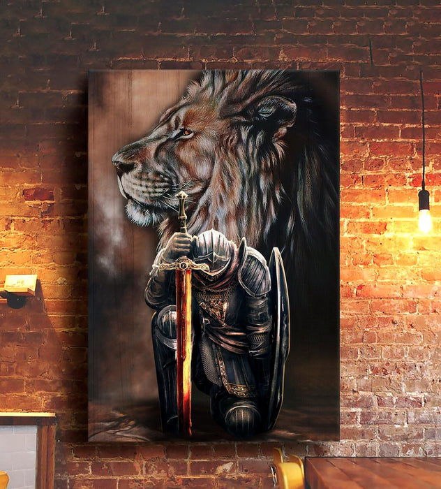 Limited Edition - Lion Gallery Wrapped Canvas Prints