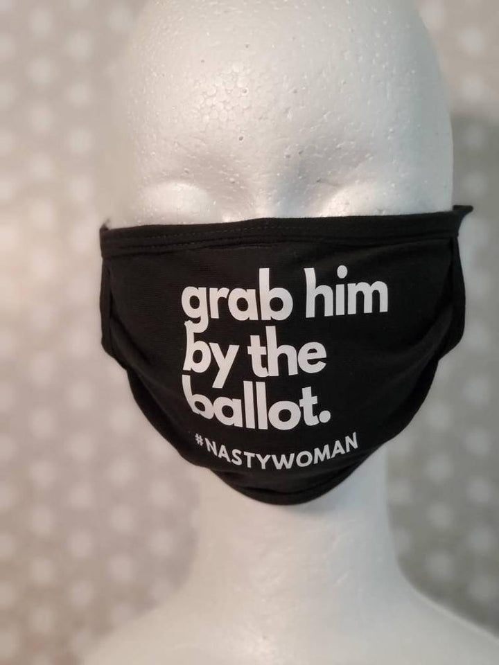 Grab him by the Ballot Cloth Mask