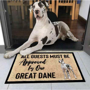 Great Dane Dog Doormat