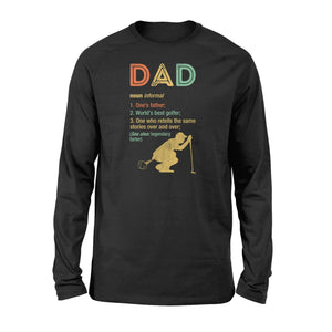 Definition Of Dad Standard Long Sleeve - Family Presents