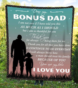 To My Dad Blanket - Everyday You Are My Hero - Blanket Gift For Dad - Birthday Gift For Dad - Family Presents - Great Blanket, Canvas, Clothe, Gifts For Family