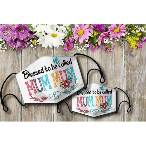Blessed to be called MUMMUM Cloth Mask - Family Presents - Great Blanket, Canvas, Clothe, Gifts For Family