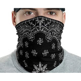 Classic Retro paisley biker Face Gaiter Cover - Family Presents - Great Blanket, Canvas, Clothe, Gifts For Family