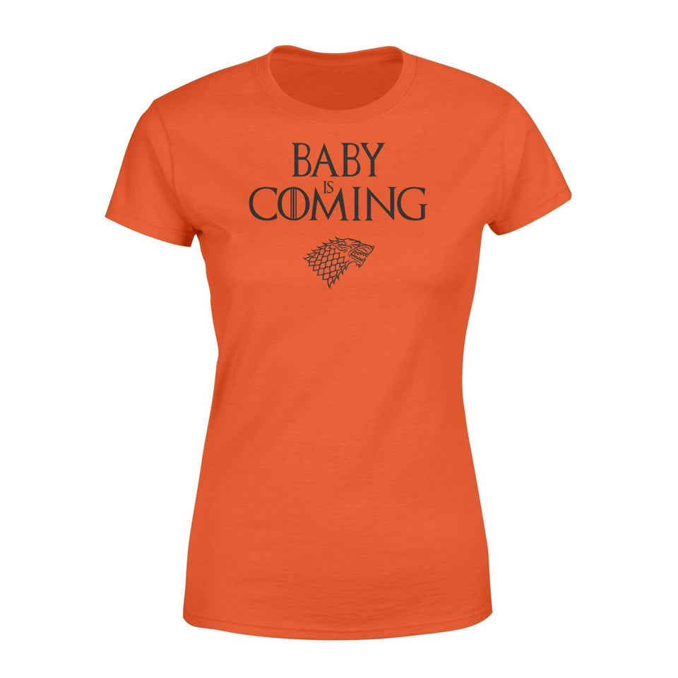 Baby is coming - Standard Women's T-shirt - Family Presents