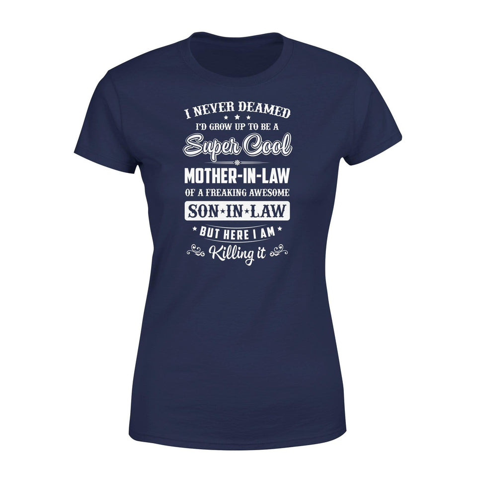 Super Cool Mother-in-law Premium Women's Tee - Family Presents
