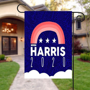Biden Harris 2020 Joe Biden Harris Kamala Garden Flag peace flag, House Flag, Farmhouse peace flag, Rustic Country Decor, Yard Decor