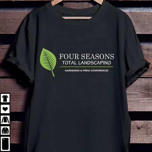 Four seasons total landscaping shirt Standard T-shirt - Family Presents - Great Blanket, Canvas, Clothe, Gifts For Family