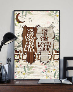 Owl you are my love bird lover Vertical Canvas - Family Presents - Great Blanket, Canvas, Clothe, Gifts For Family