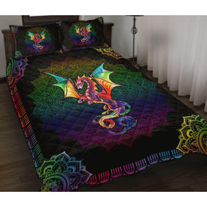 Lovely dragon - Color Dragon - Blanket