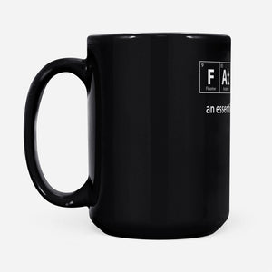 Father an essential element - Black Mug - Family Presents - Great Blanket, Canvas, Clothe, Gifts For Family