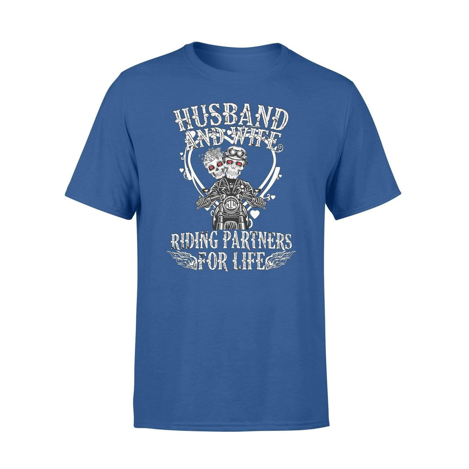 Husband and wife riding partner - Standard T-shirt - Family Presents