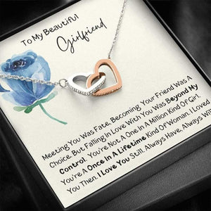Meaningful Necklace for Girlfriend, Cute Gift for Girlfriend, I love you still, Valentine gift for her