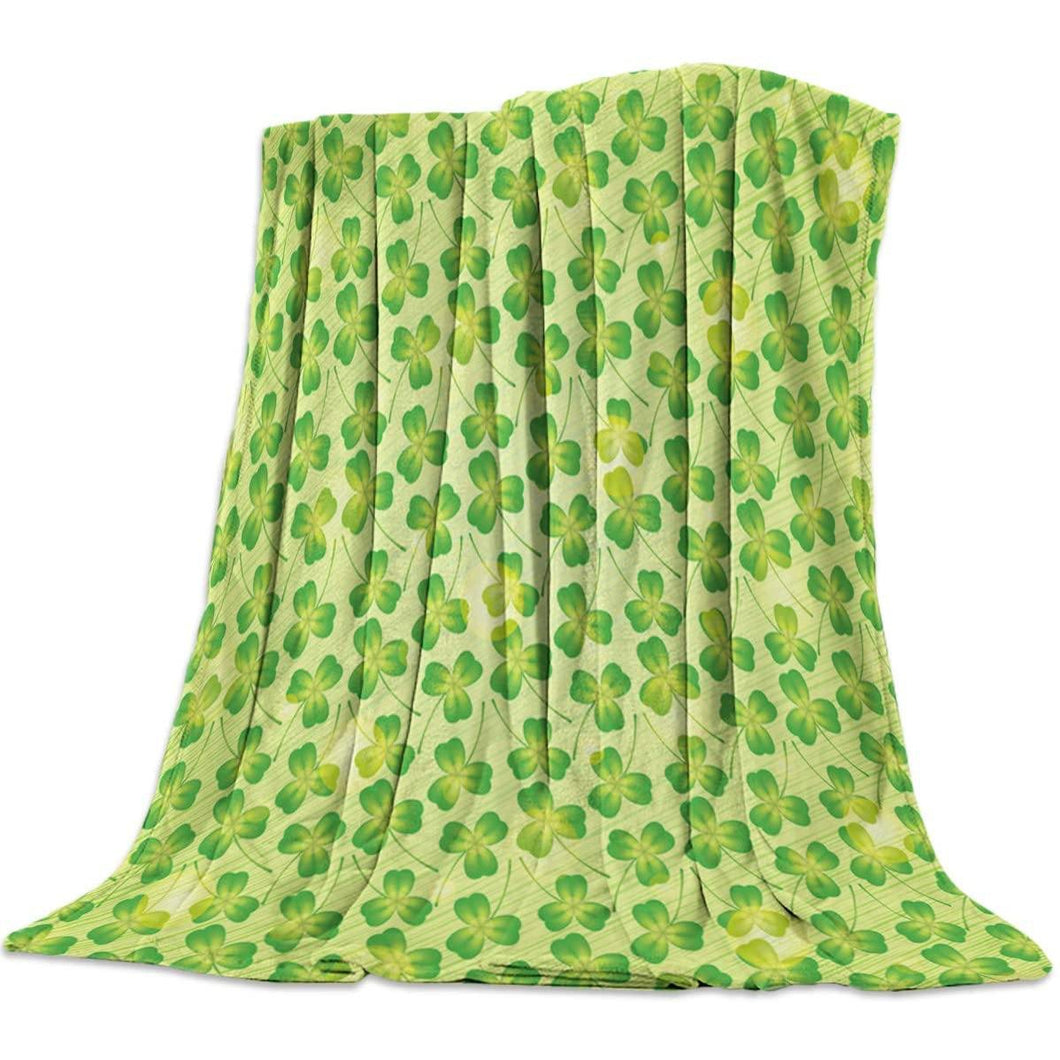 St. Patrick's Day 2021 Gifts  Blanket for Baby/Adults/Boys/Girls, Irish blessing, St. Patrick's Day Lucky