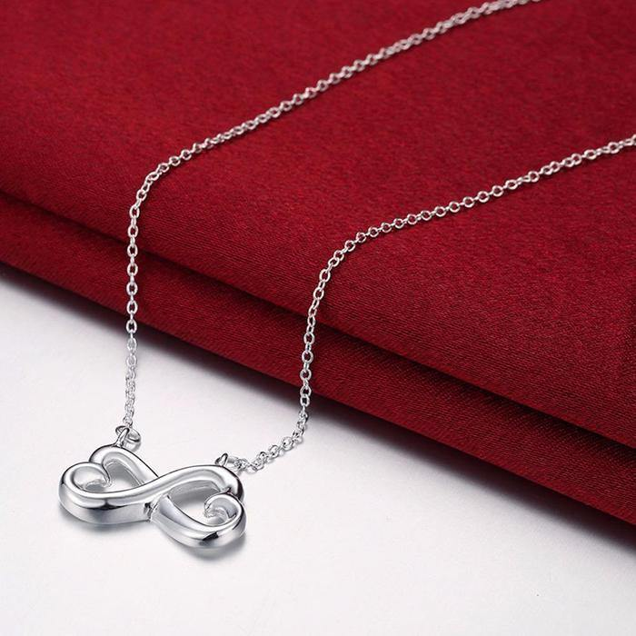 Infinity Heart Necklace - To My Wife - You Are The Love Of My Life -Valentine Gift For Wife, Girlfriend, Valentine For Couple