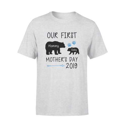 Our First Mother's Day Premium Tee - Family Presents