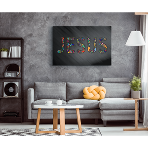 """Jesus"" Premium Canvas Wall Art"