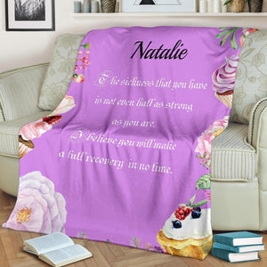 Personalized Blanket Gift To My Wife - Believe you will make a full recovery in no time - Family Presents - Great Blanket, Canvas, Clothe, Gifts For Family
