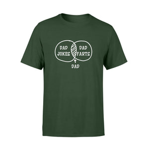Dad Jokes Premium Tee - Family Presents