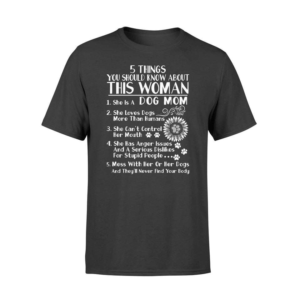 Five Things About This Woman - Standard T-shirt - Family Presents
