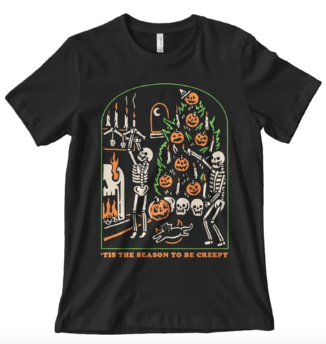 'Creepy Season' Shirt - Standard T-shirt - Family Presents - Great Blanket, Canvas, Clothe, Gifts For Family