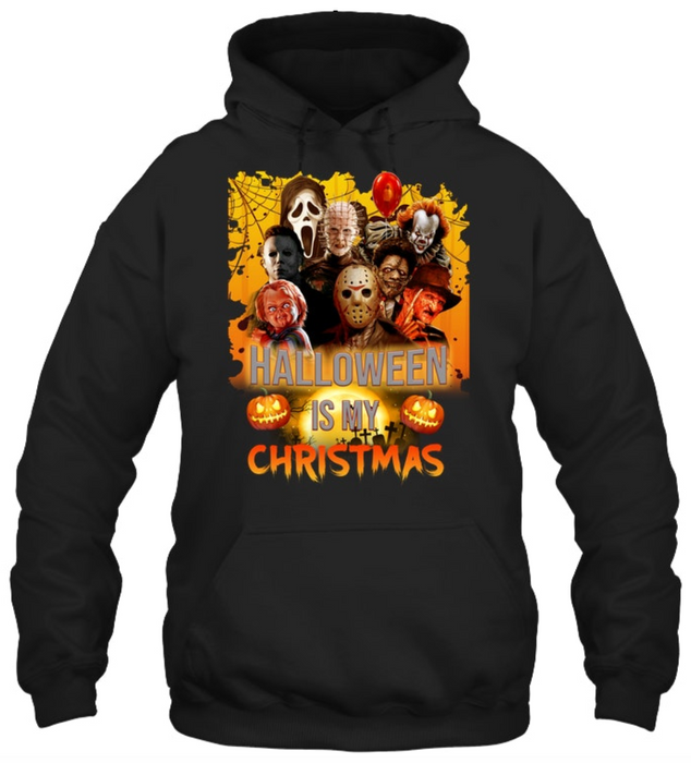 Halloween is my christmas Hooded Sweatshirt