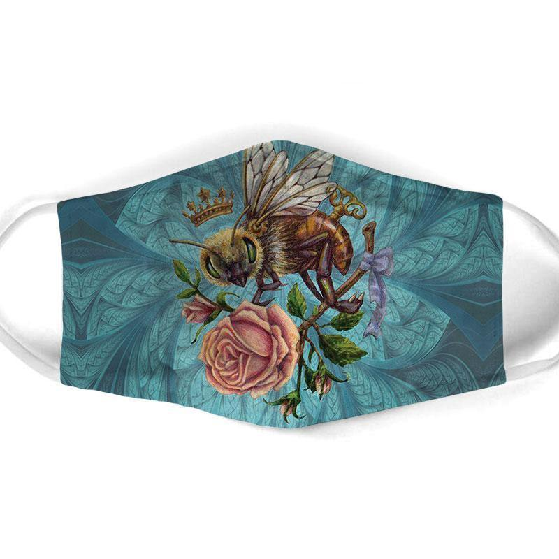 Bee  All Over Prints Cloth Mask 15 - Family Presents - Great Blanket, Canvas, Clothe, Gifts For Family
